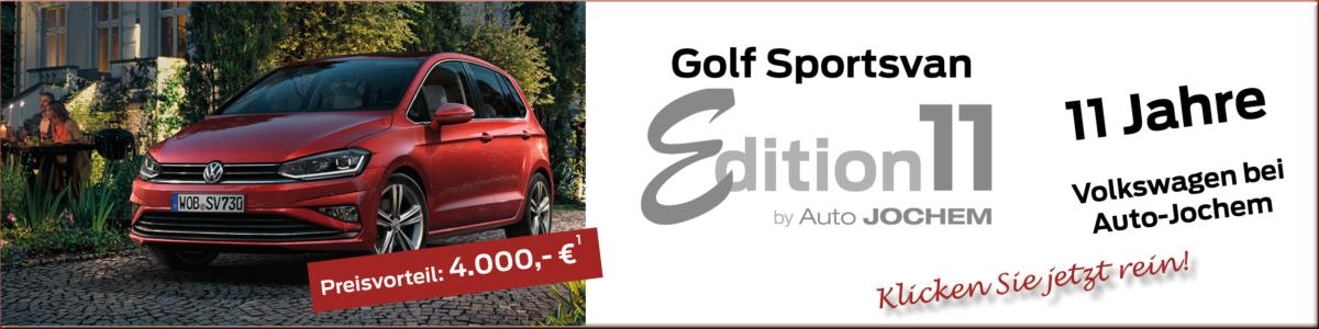 Golf Sportsvan , Edition 11, Auto Jochem