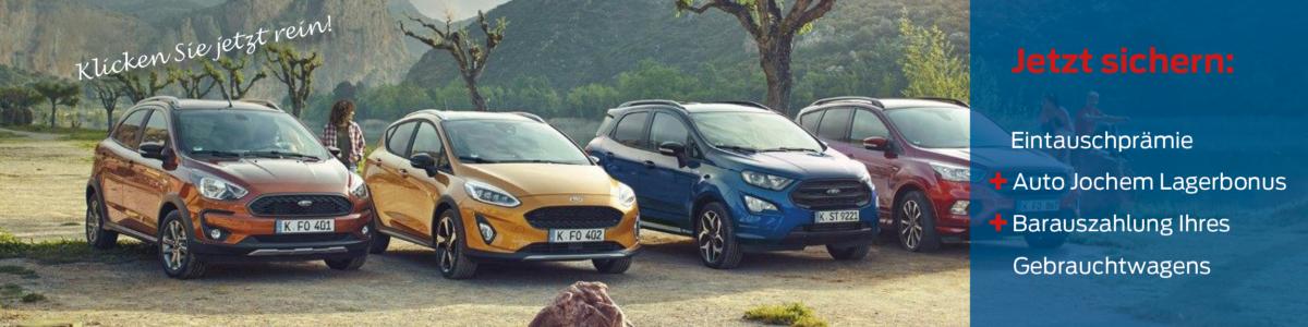 Ford Eintauschpraemie bei Auto Jochem