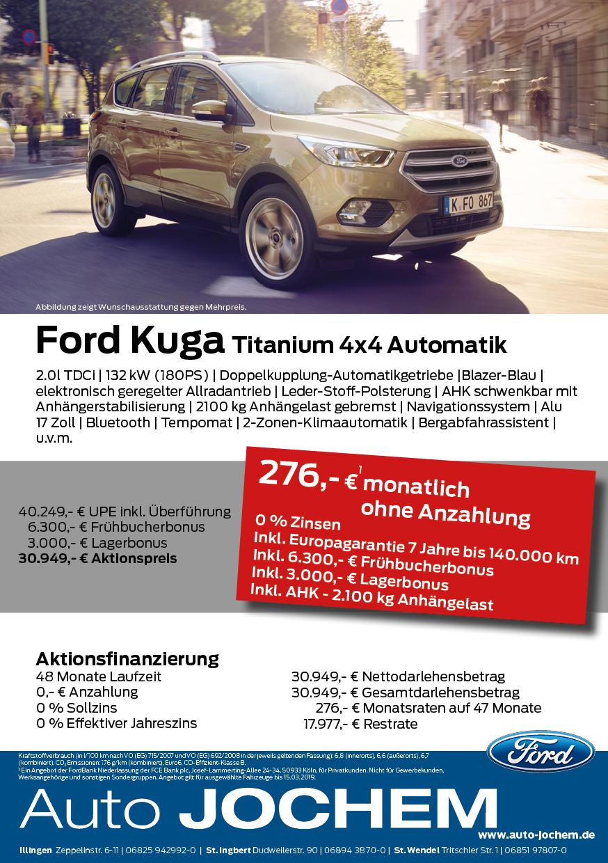 Angebot Ford Kuga