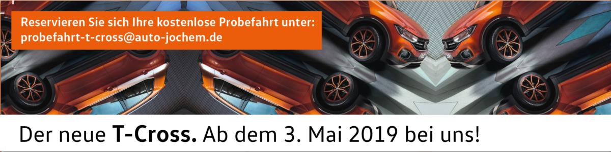 VW T-Cross bei Auto Jochem