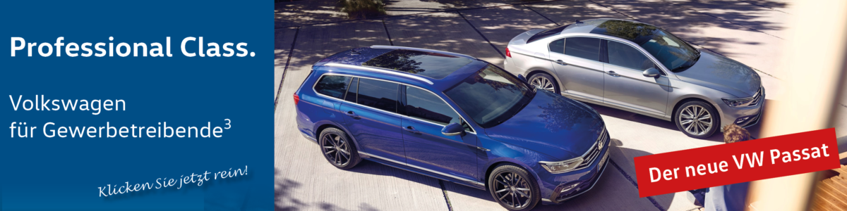 Der neue VW Passat bei Auto Jochem
