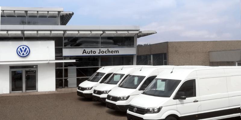 VW Nutzfahrzeuge bei Auto Jochem in St. Ingbert