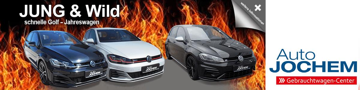 VW Jahreswagen bei Auto Jochem
