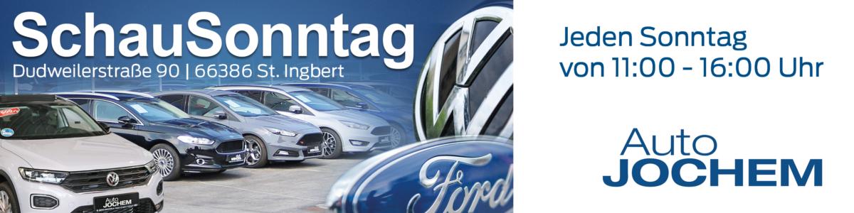 Schau-Sonntag in St. Ingbert bei Ford und VW