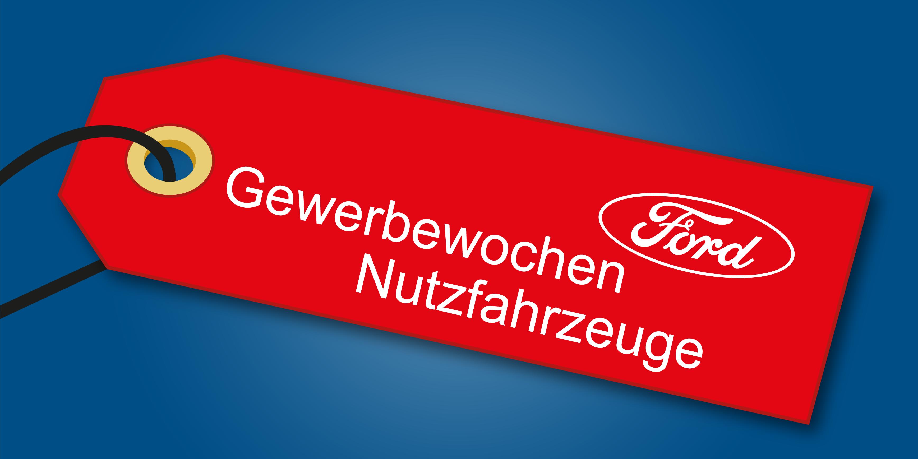 Angebot Ford Gewerbewochen Nutzfahrzeuge bei Auto Jochem