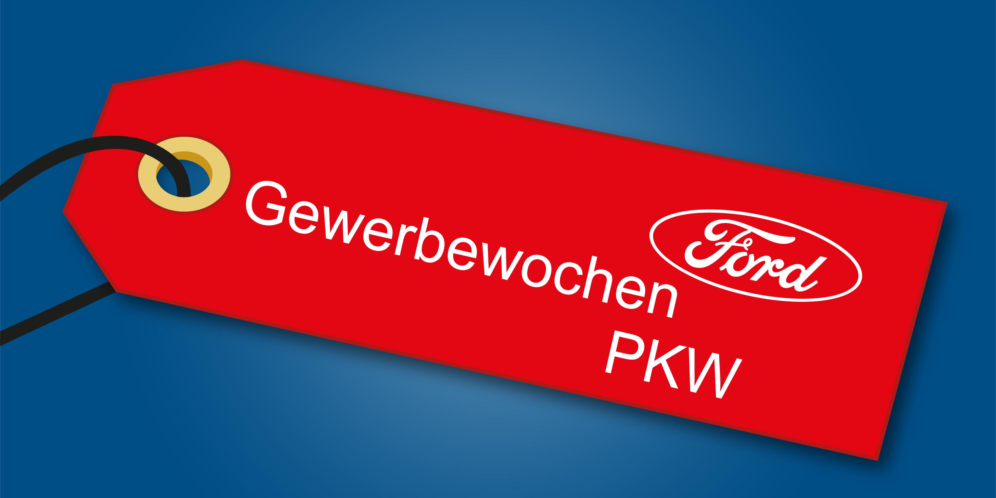Angebot Ford Gewerbewochen PKW bei Auto Jochem
