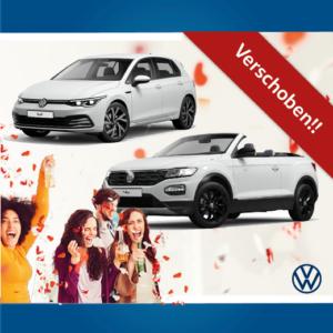 Markteinführung Volkswagen Golf 8 und T-Roc Cabriolet