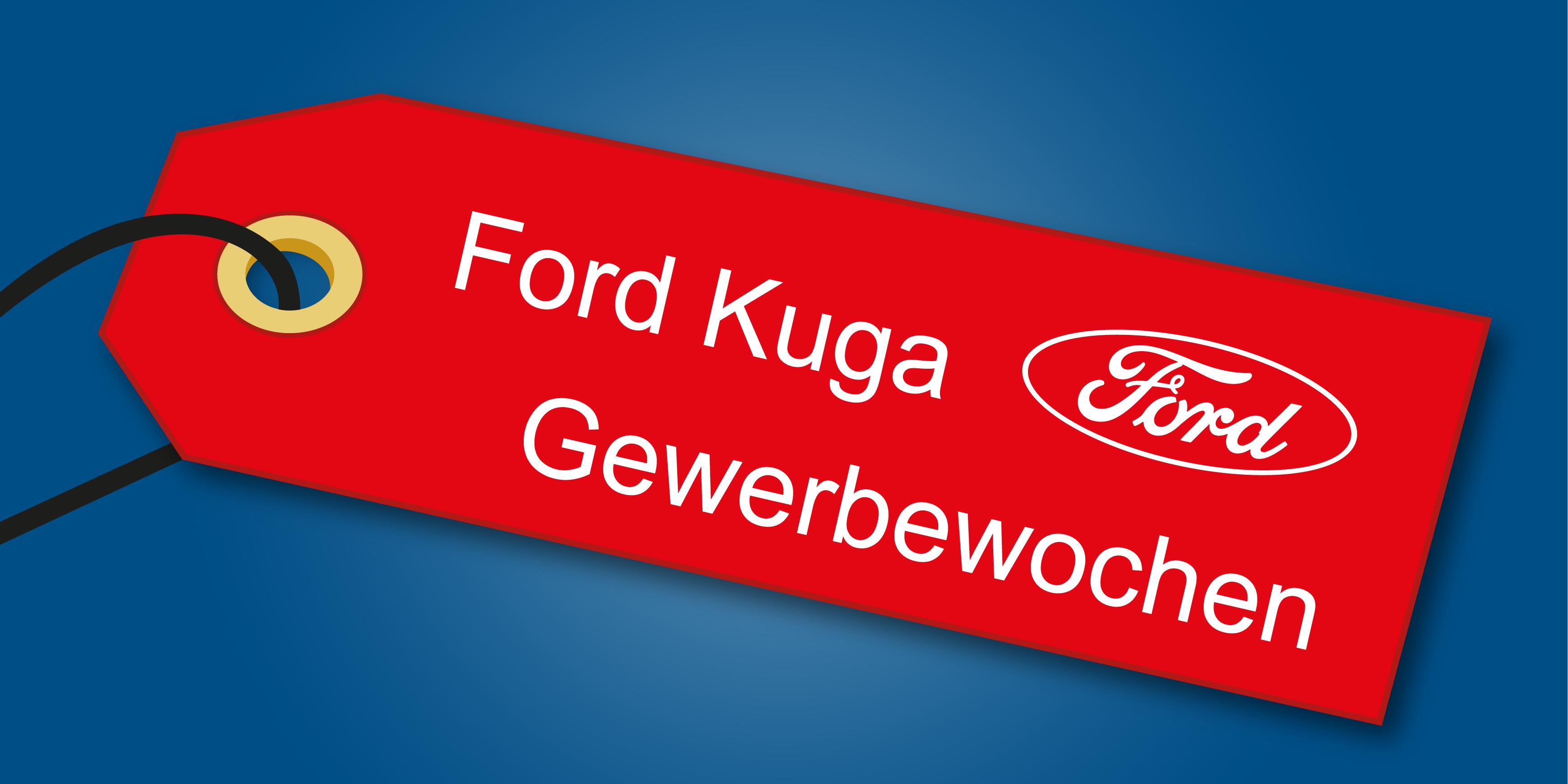 Gewerbeangebot - Ford Kuga bei Auto-Jochem GmbH