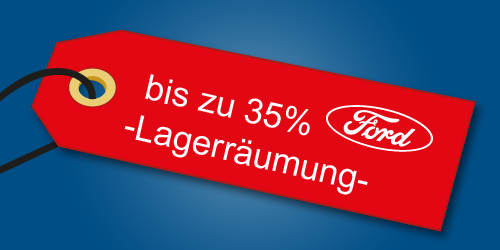Ford Lagerräumung bei Auto-Jochem GmbH