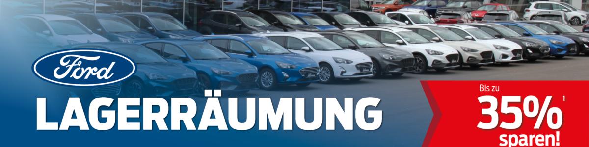 Angebote - Ford Lagerräumung bei Auto-Jochem GmbH.