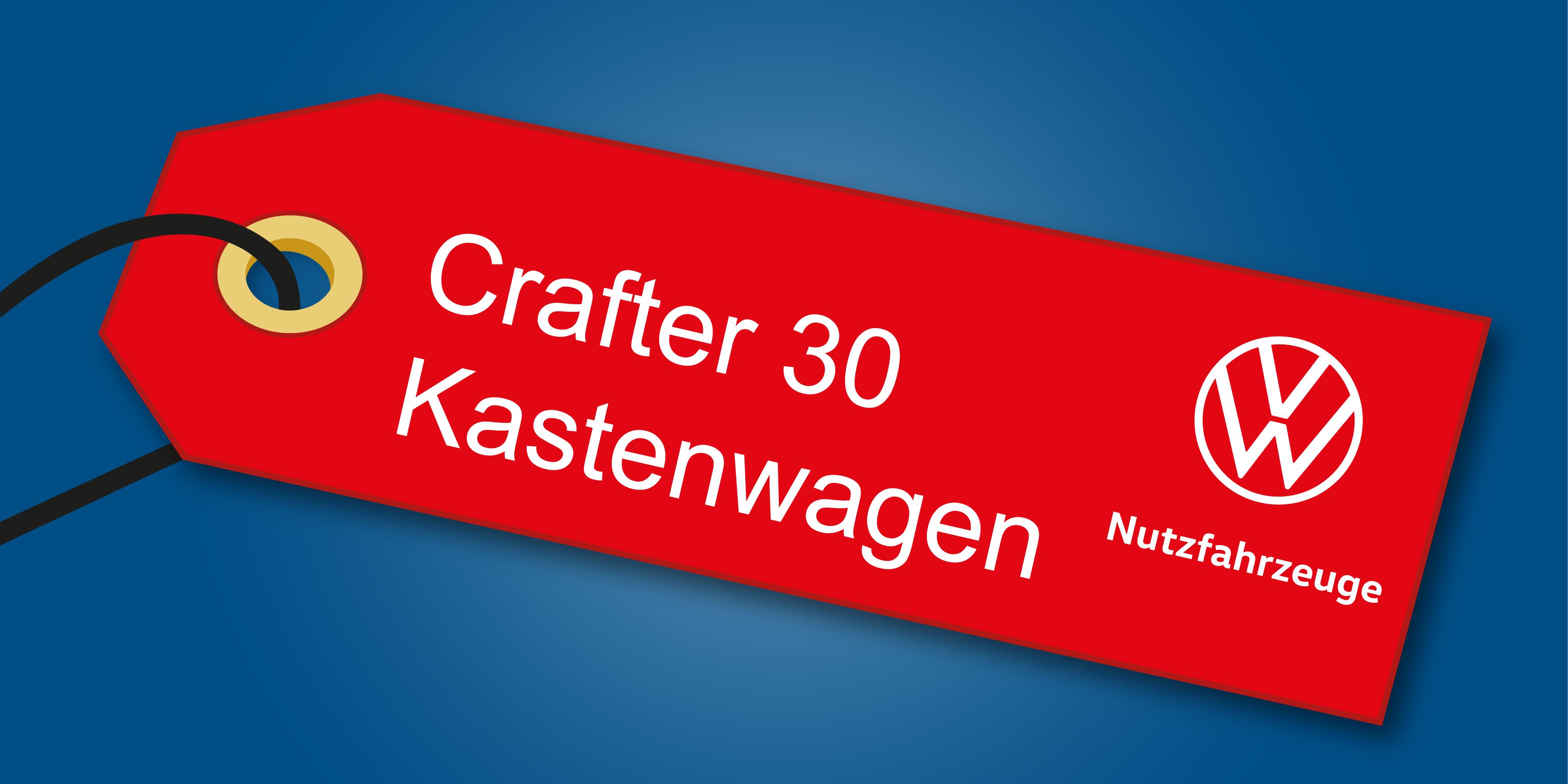 Volkswagen Nutzfahrzeuge bei Auto-Jochem GmbH - Angebot Volkswagen Crafter 30 Kastenwagen in St. Ingbert