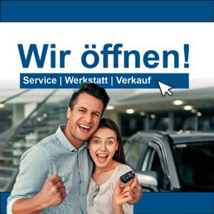 Wir öffnen - Termin vereinbaren bei Auto-Jochem GmbH