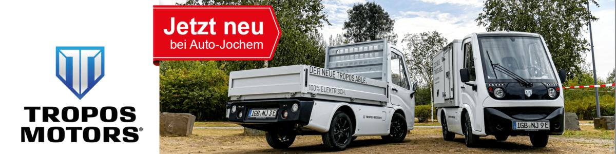 Tropos ABLE Elektrotransporter bei Auto-Jochem GmbH